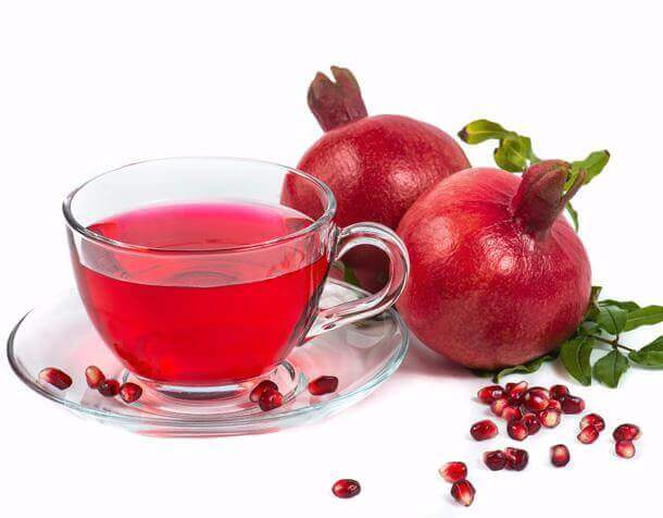 Frozen Pomegranate Clear